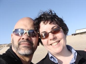 Me and Gianna at Herring Cove Beach