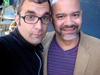 Chriso and me