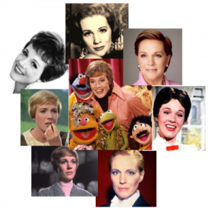 Julie Andrews\'s short hairstyles