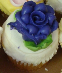 A cupcake from Party Favors