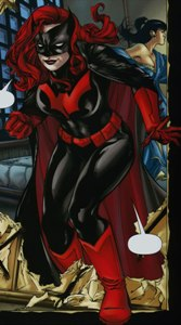 Kate Kane is Batwoman